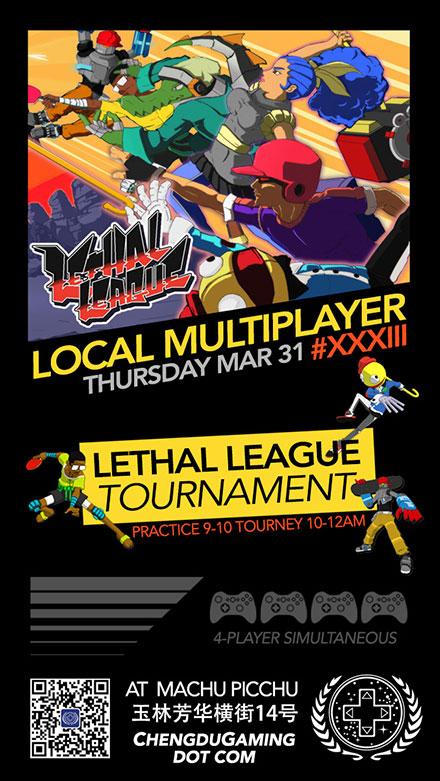 Lethal League tournament