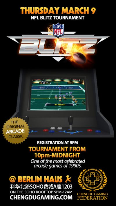 NFL Blitz Tournament